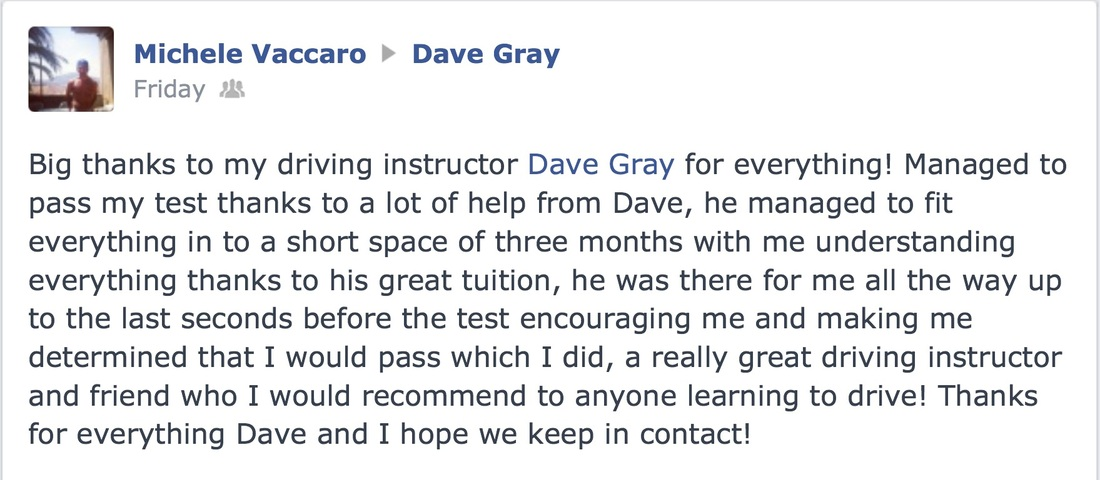 michele driving instructor review cheshunt