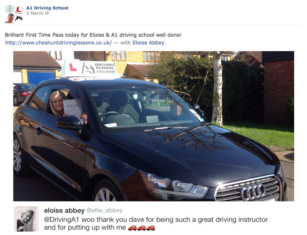 driving lessons for elouise