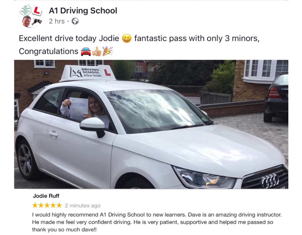 Driving lessons cheshunt A1 School